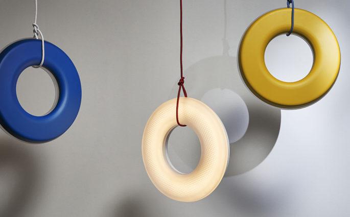 lampade sospensione cerchio led