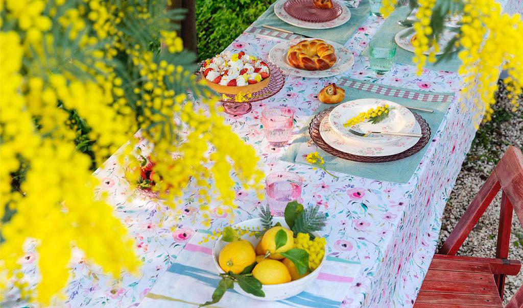 tavola di primavera
