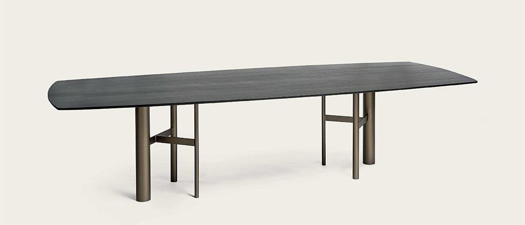 tavolo park legno scuro
