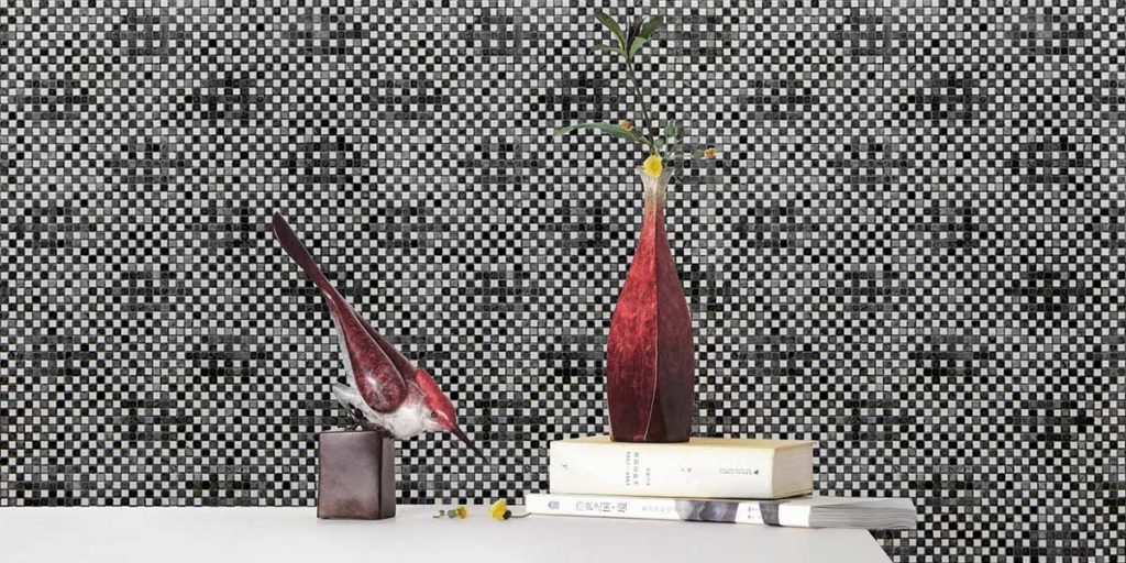 rivestimento parete mosaico design