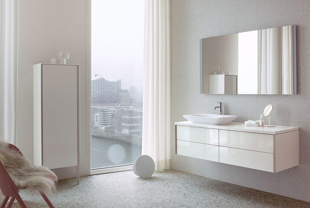 arredo bagno mobili bianco