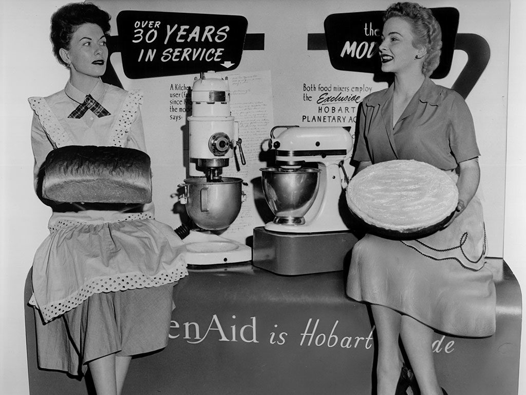 kitchen aid robot locandina epoca