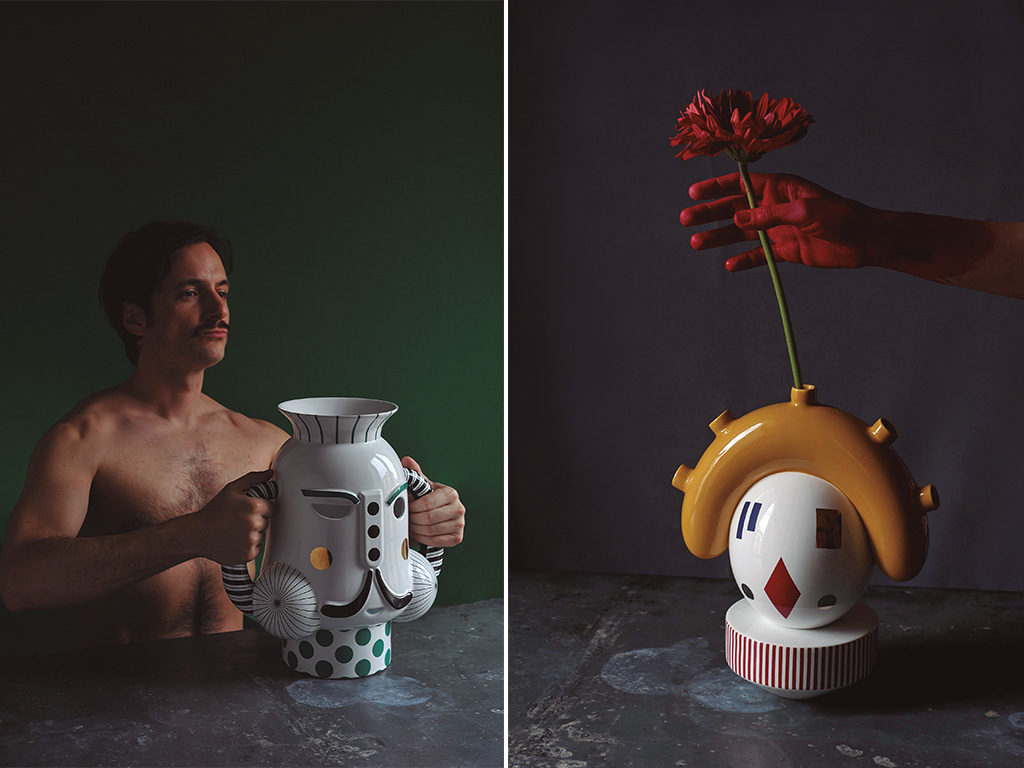 king vase ceramica