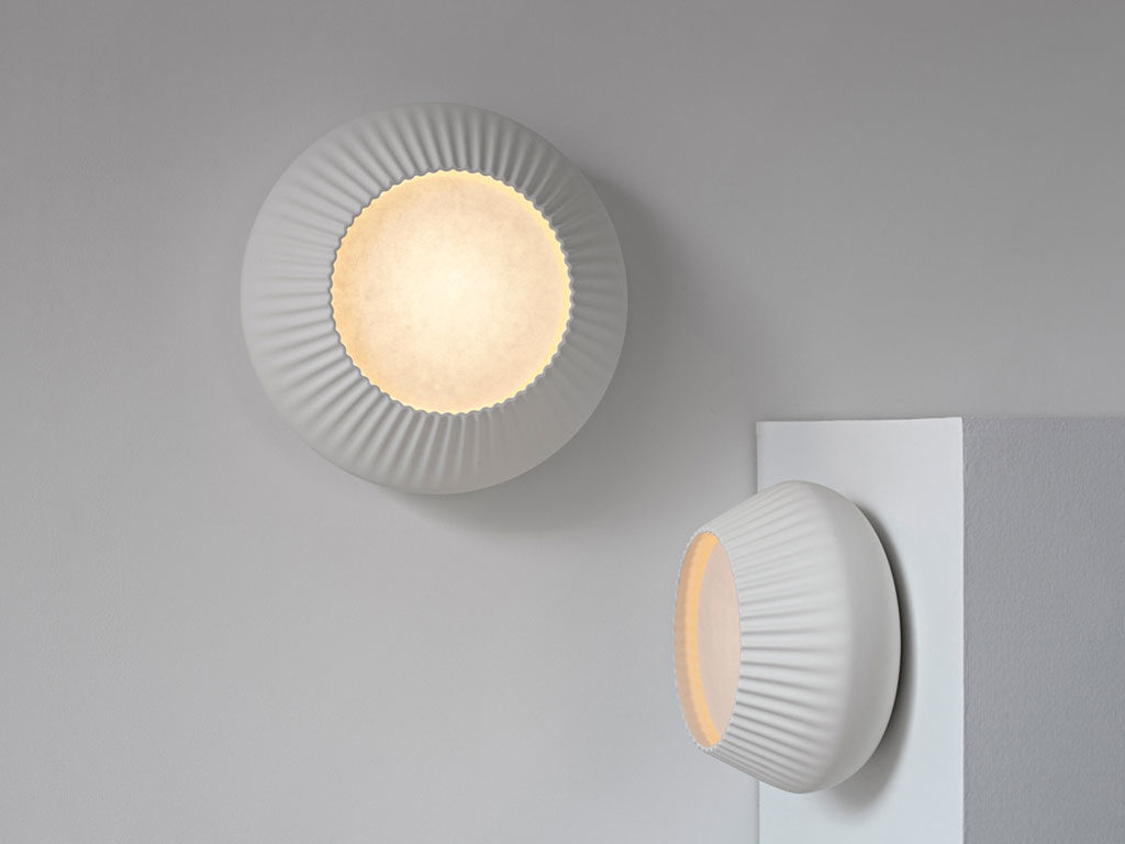 lampade da parete design bianco