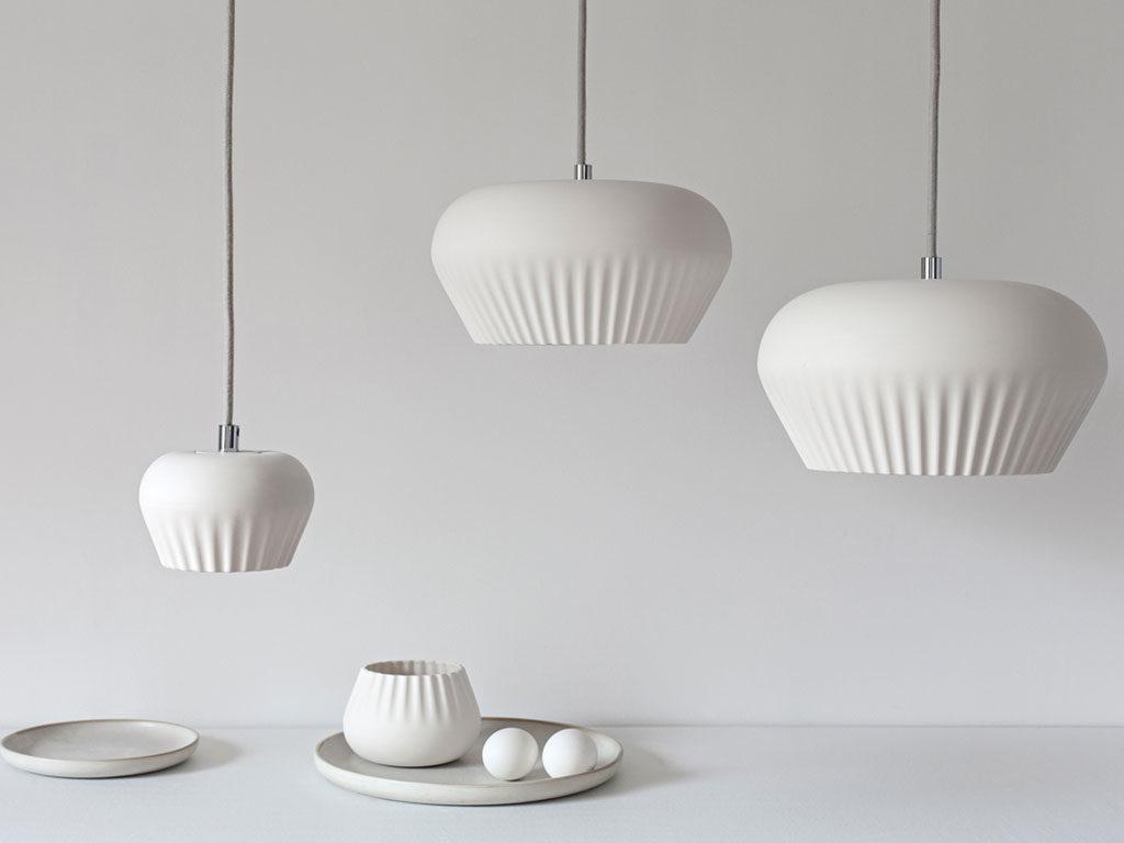 lampada sospensione bianco