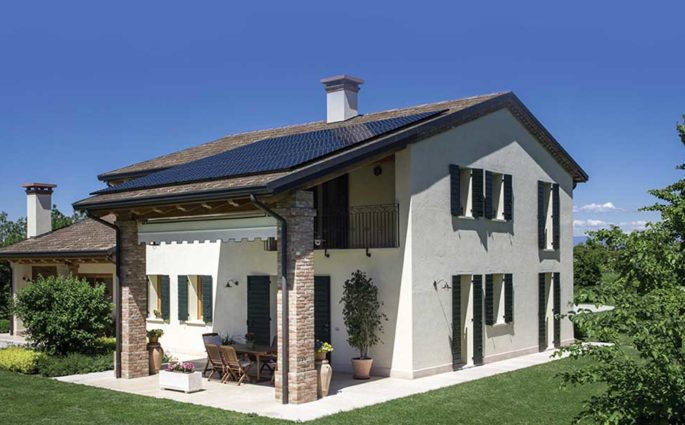pannelli fotovoltaici installati tetto