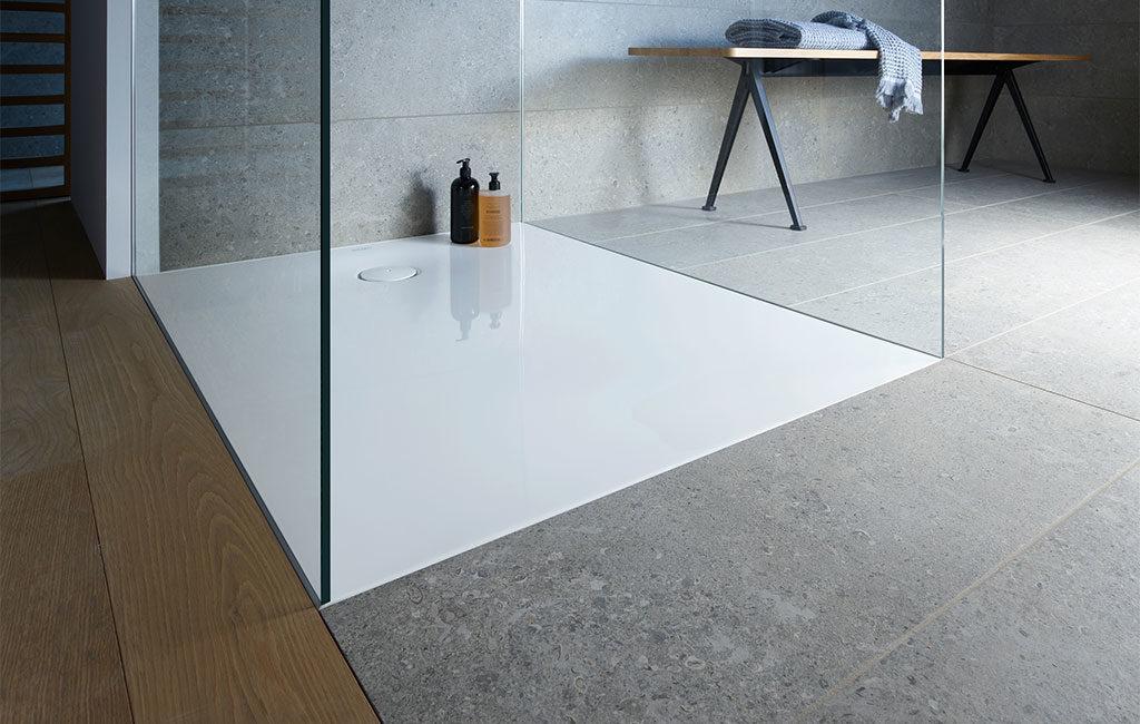 piatto doccia filo pavimento design