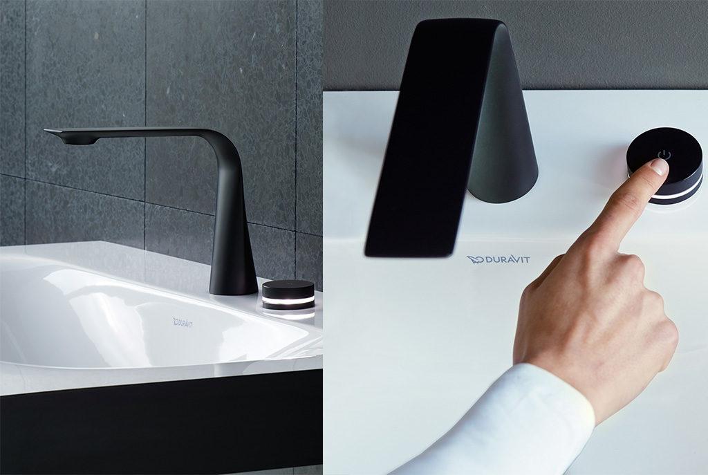 rubinetto design elettronico bagno
