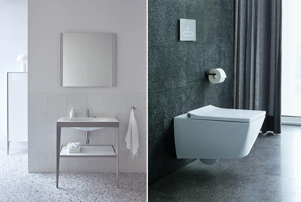 sanitari sospesi e lavabo design
