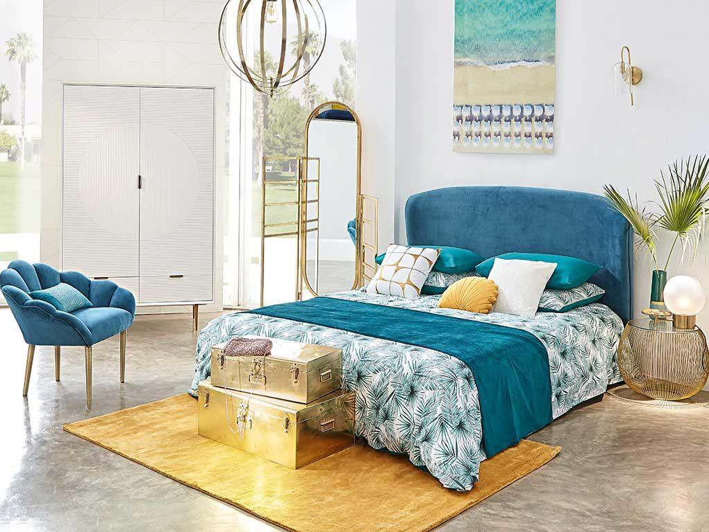 tessili colorati camera da letto