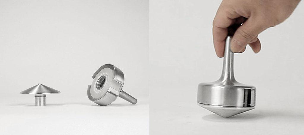 trottola metallo porta nastro adesivo