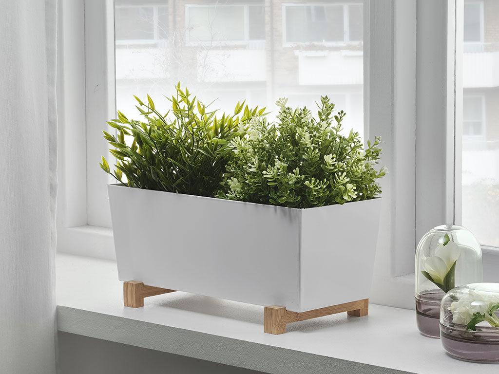 vasi piante ikea finestra