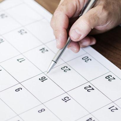 calendario scadenza penna