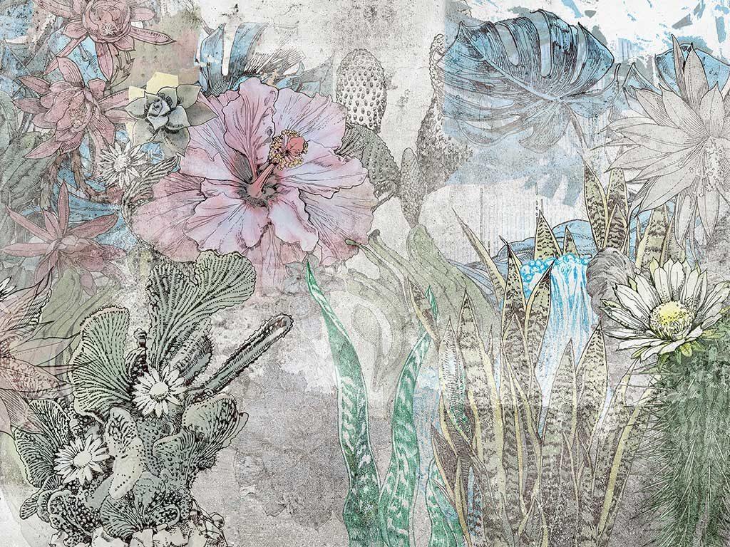wallpaper floreale