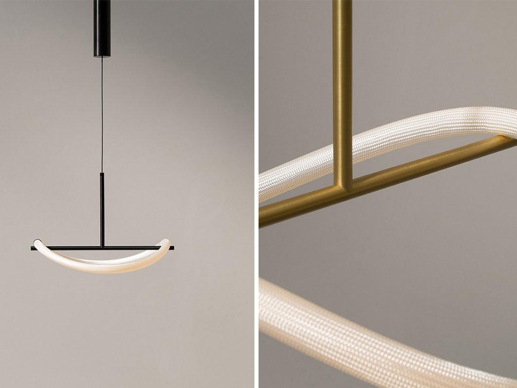 lampada sospensione nero design