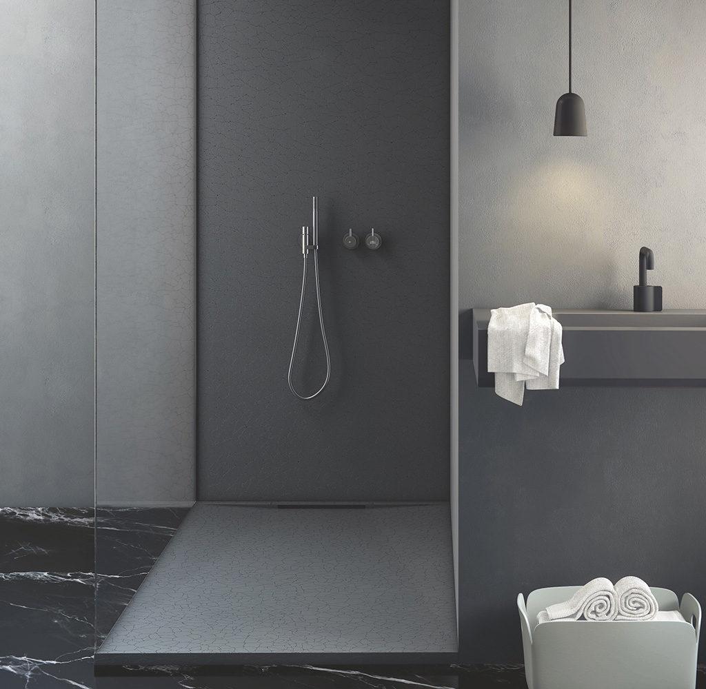 piatto doccia sottile colore nero