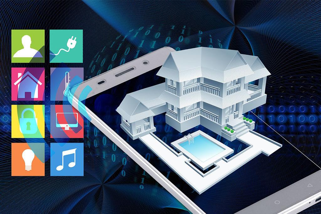 smart home grafica