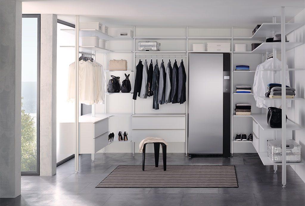 armadio igienizzante in cabina armadio