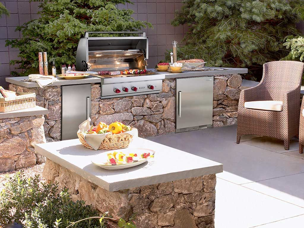 barbecue a gas da esterno