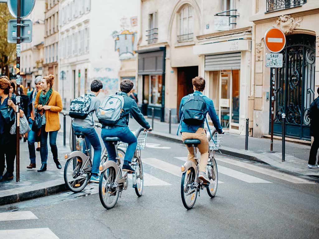 bici elettriche vie citta