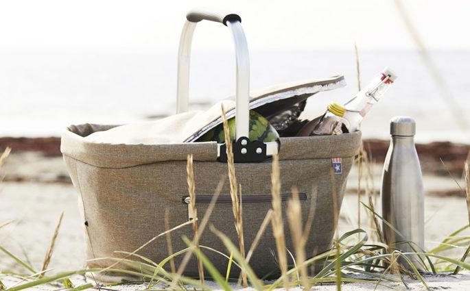 cesto picnic spiaggia