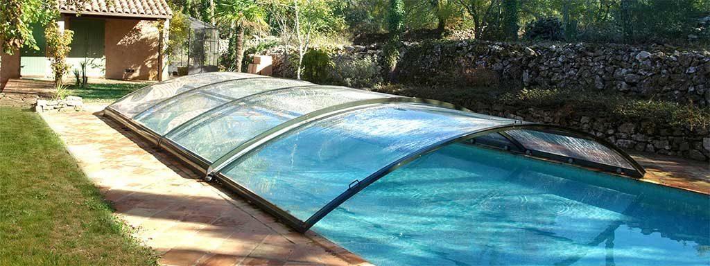 copertura bassa per piscina