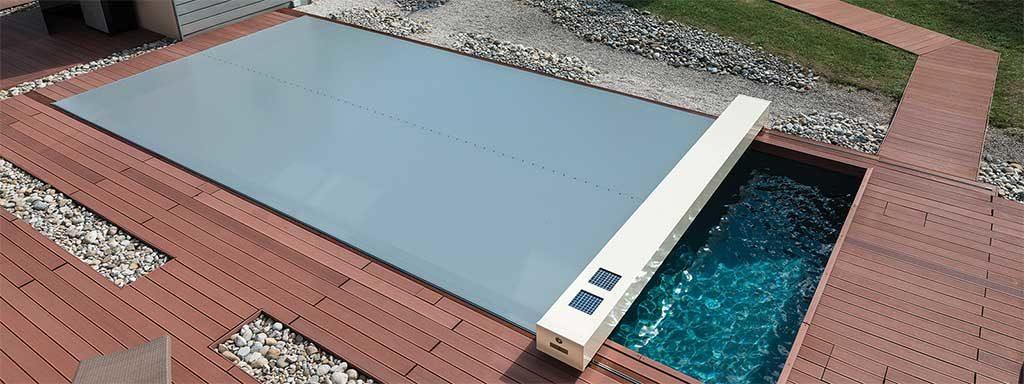 copertura motorizzata piscina
