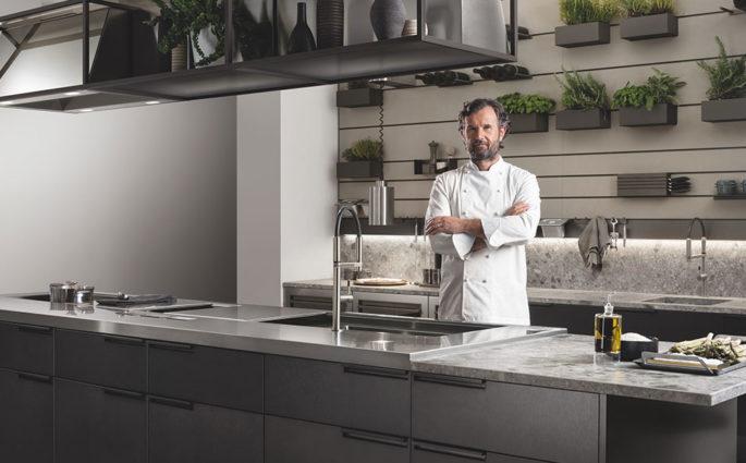 cucina isola carlo cracco