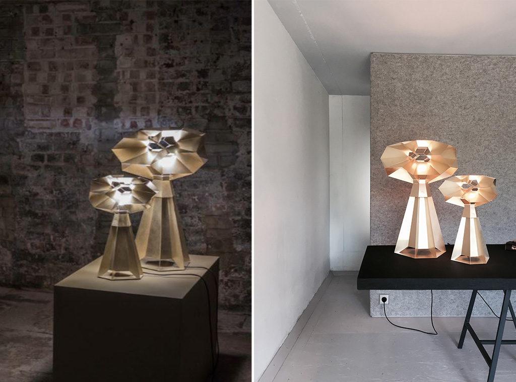 lampade design frattali