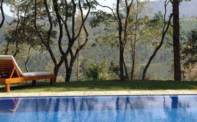 piscina casa aperto colline