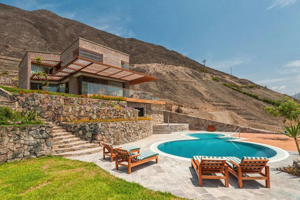 villa piscina casa azpitia