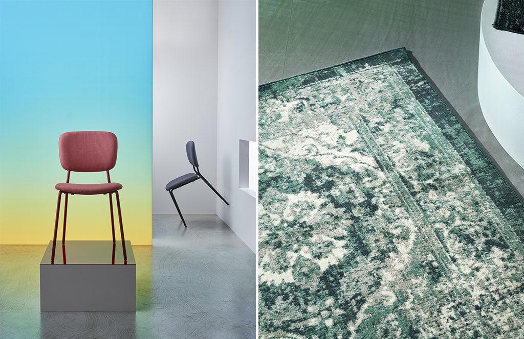 sedie e tappeto