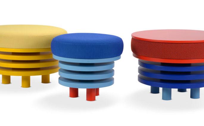 tavolini pouf design