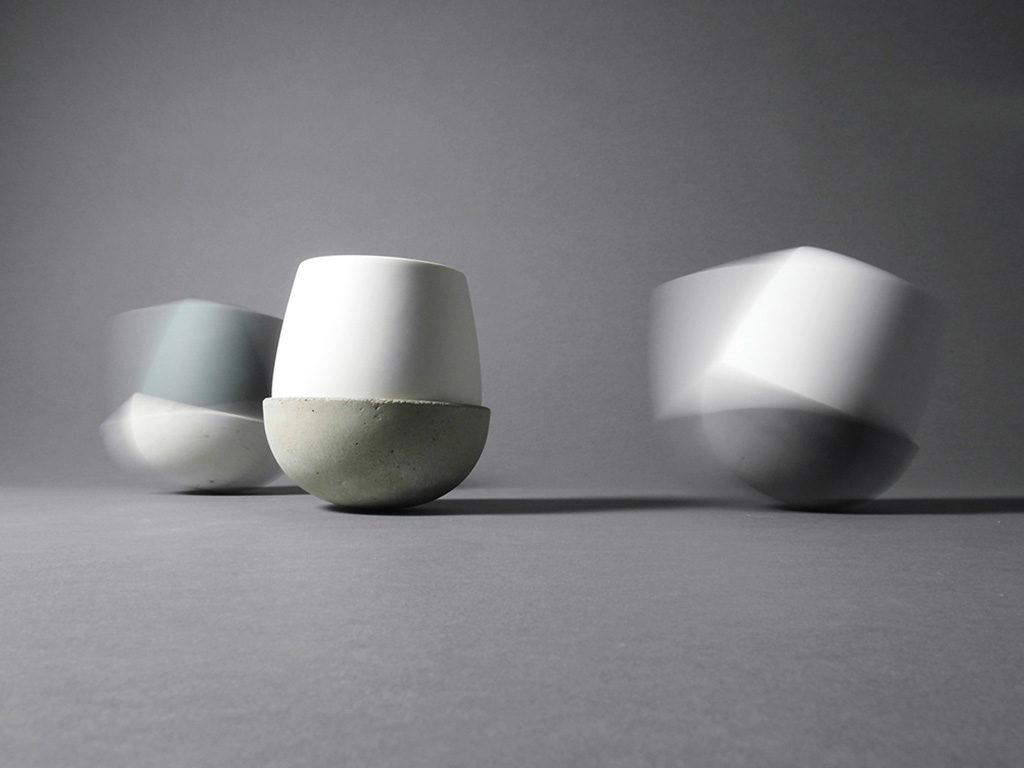 vasi porcellana cemento