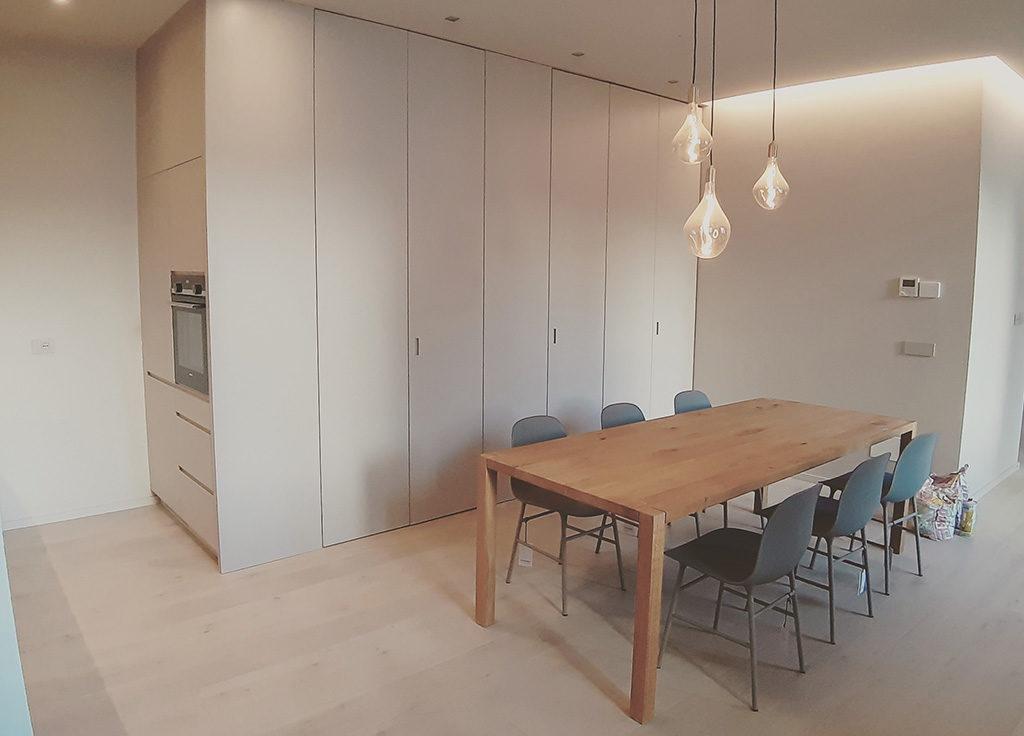 zona pranzo appartamento
