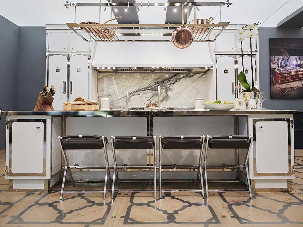cucina bianco lusso