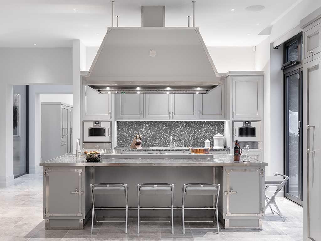 cucina grigio lusso
