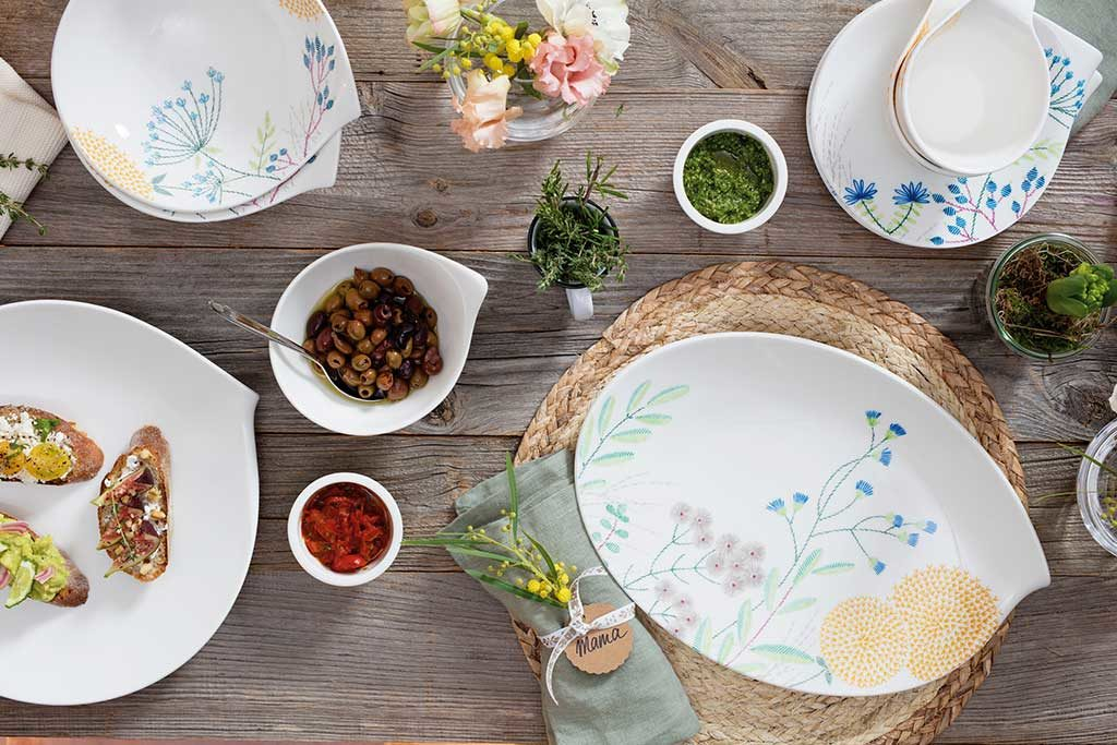 piatti di design bianco
