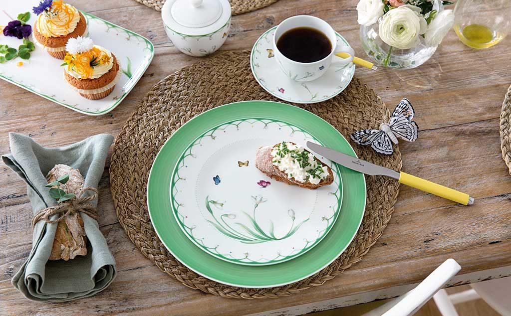 piatto verde pastello
