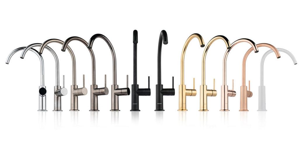 rubinetti design cucina