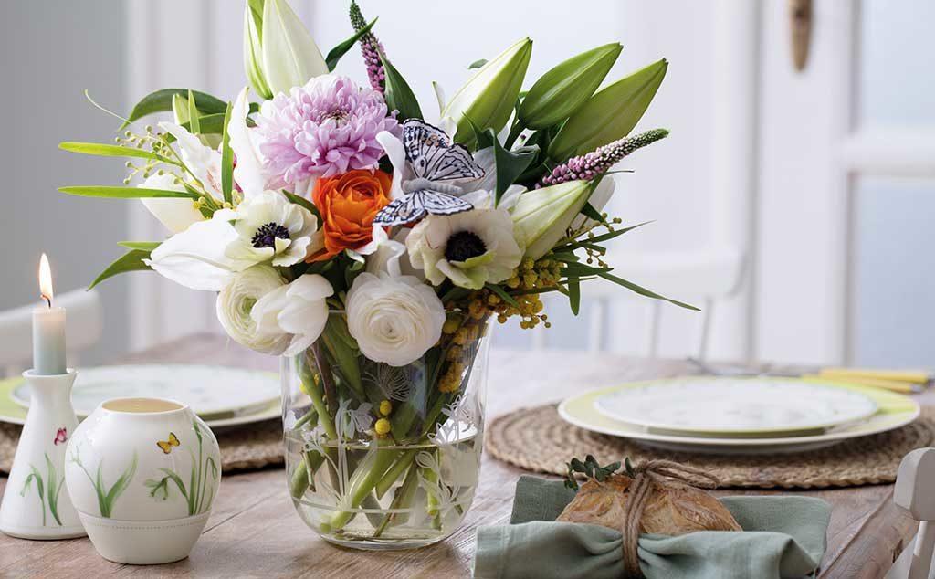 vaso fiori tavola