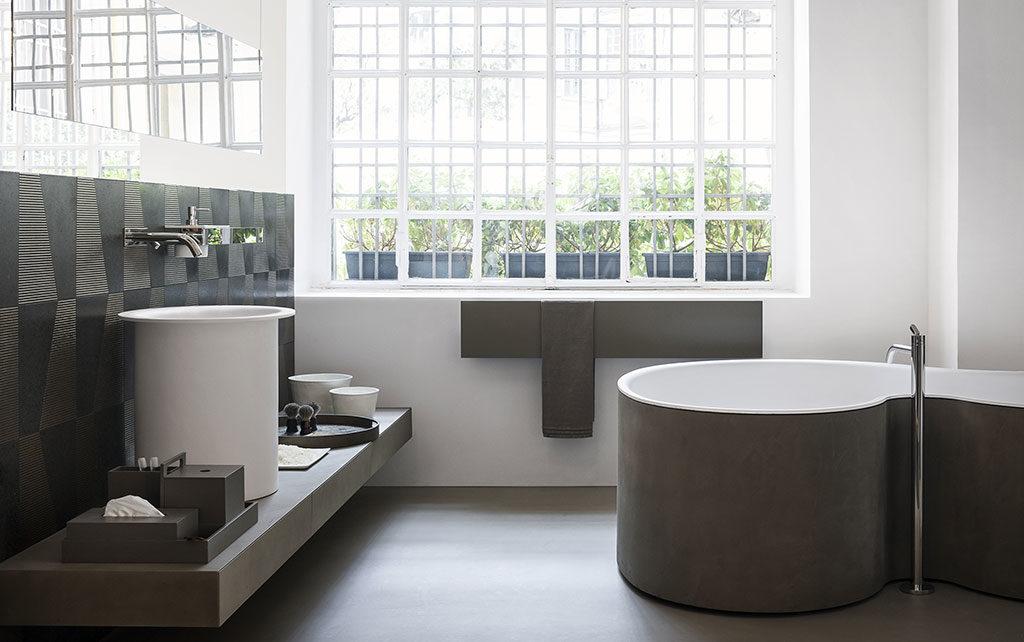 bagno di design moderno