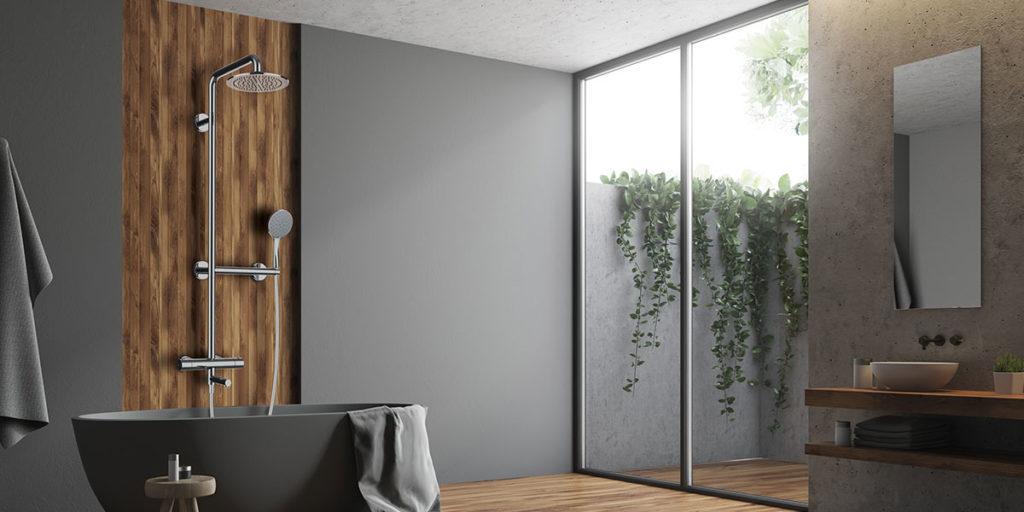 colonna doccia per vasca