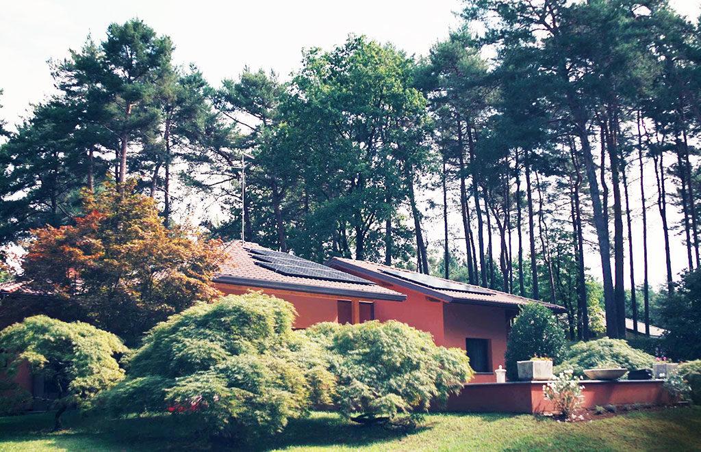 casa indipendente impianto fotovoltaico