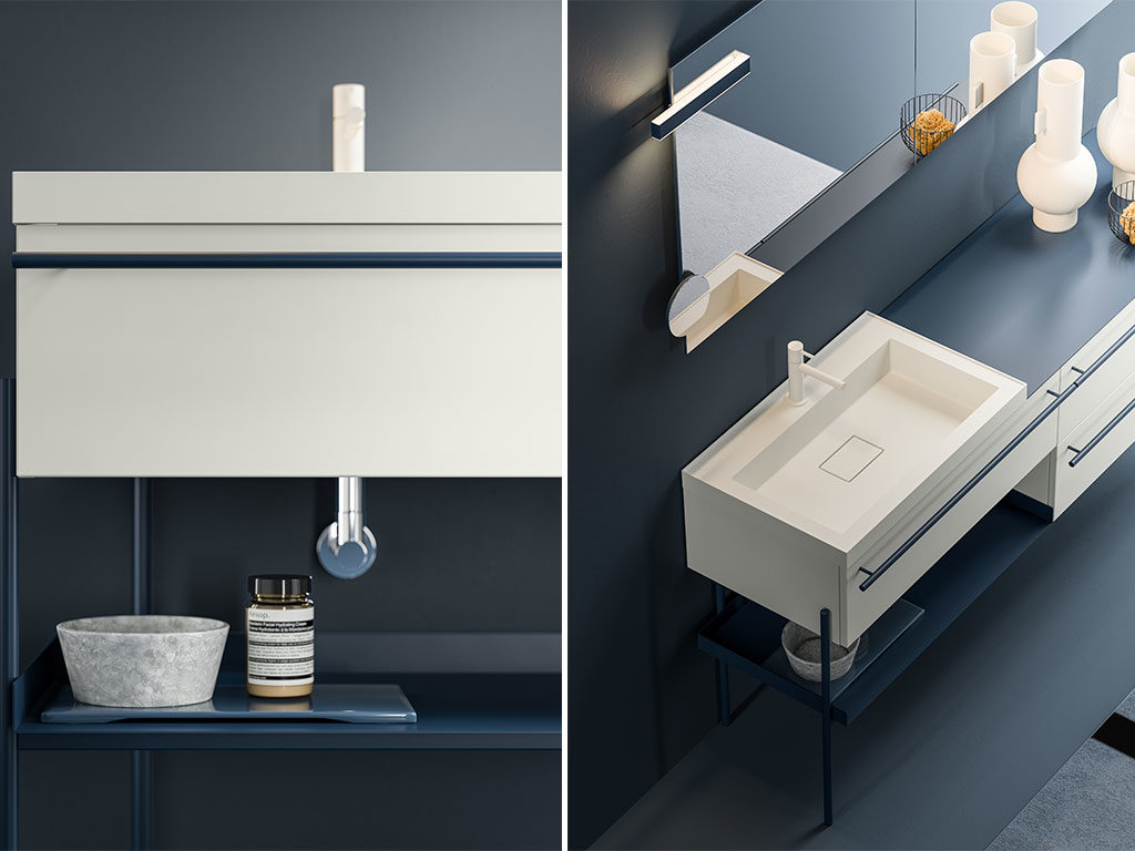 mobile bagno lavabo cristalplant