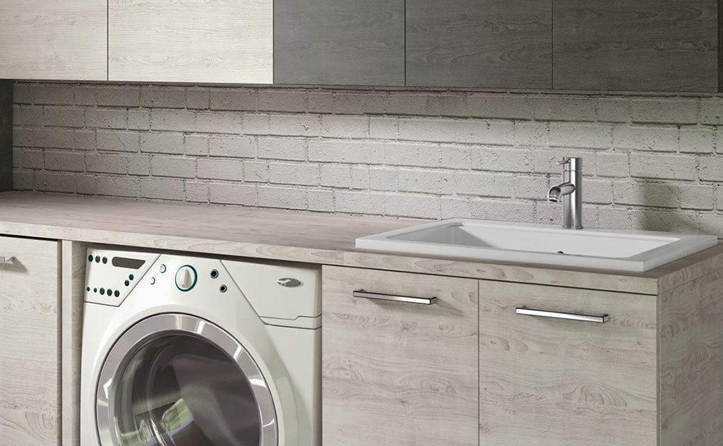 lavabo piano incasso lavanderia