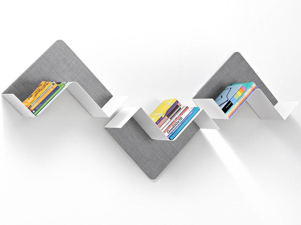mensola porta libri design