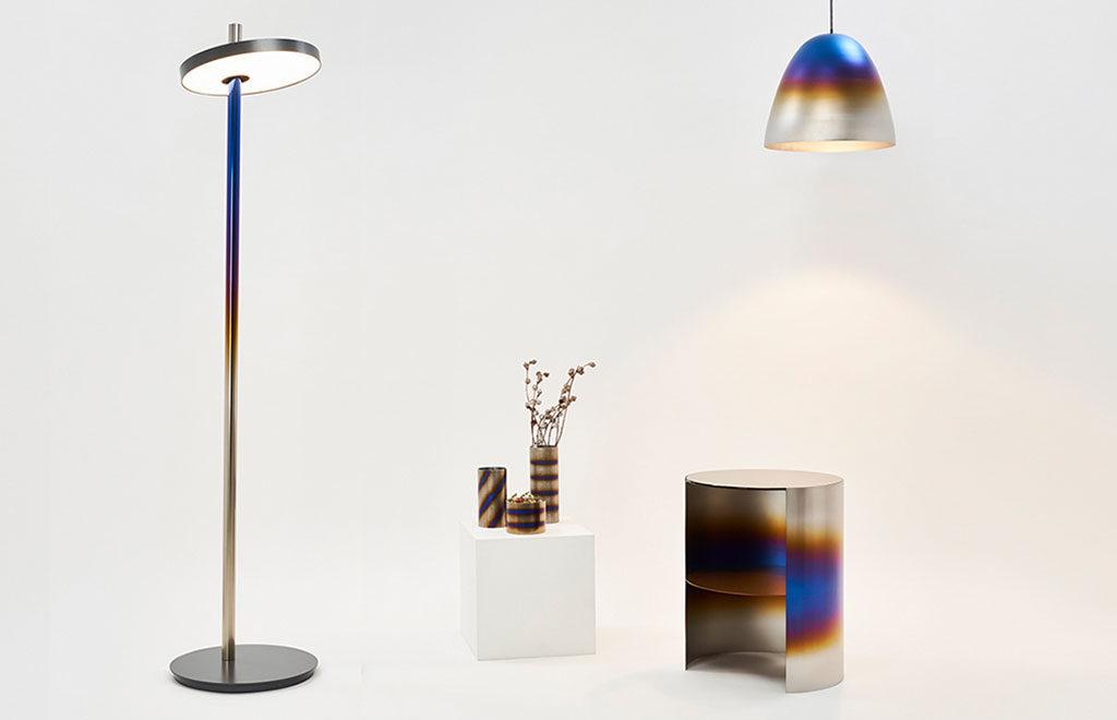 oggetti arredo titanio design
