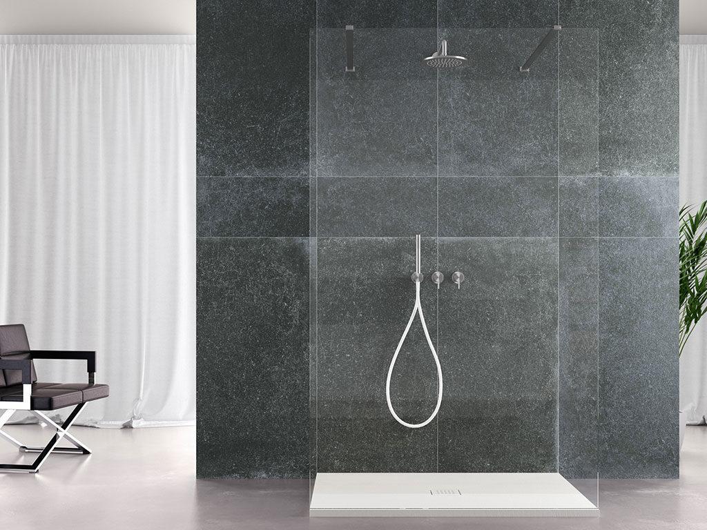 piatto doccia bianco