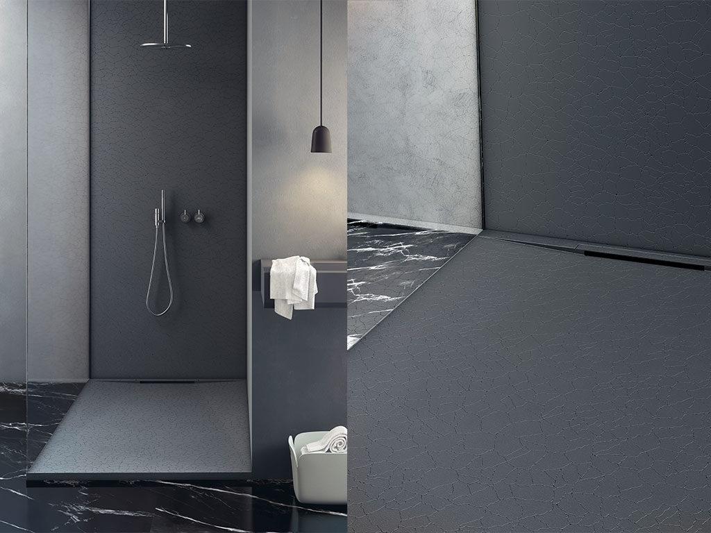 piatto doccia nero scarico invisibile